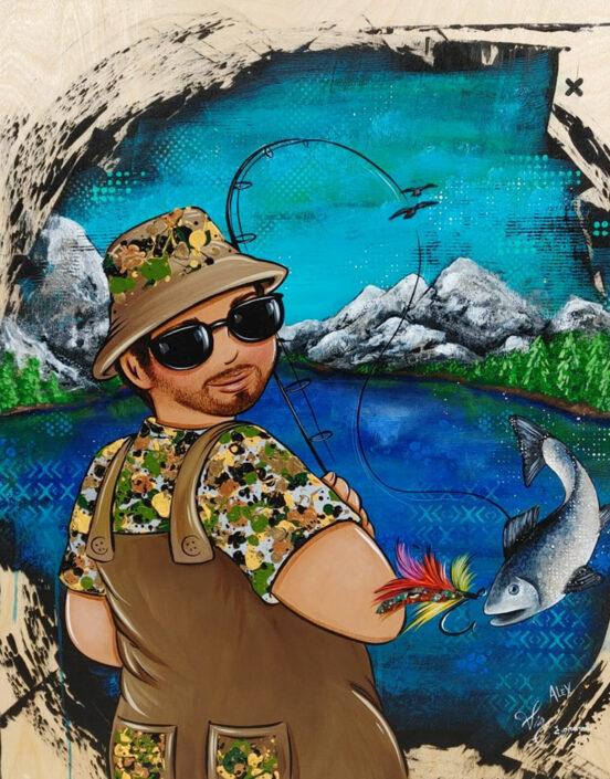 Collaboration Mai 2021 / Histoire de pêche